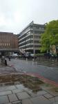 I emerged in London rain