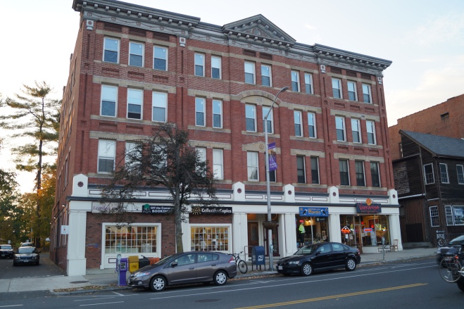 The former Bonducci's across from the common
