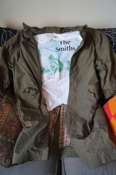 Not the originals -- the first duster and Smiths tee bit the dust from overwear. Duster 2 was from a friend, and I found the Smiths tee on eBay.