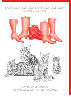 boots and cats